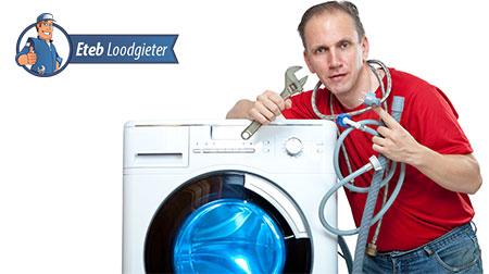 Wasmachine aansluiten