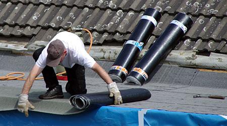 Bitumen dakbedekking Rosmalen