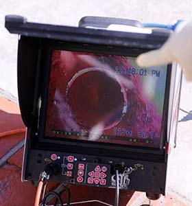 camerainspectie van het riool