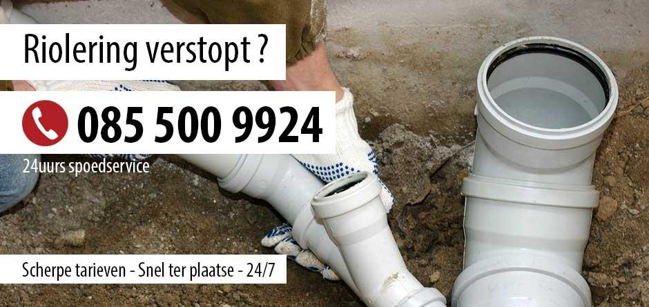 Riolering verstopt Utrecht