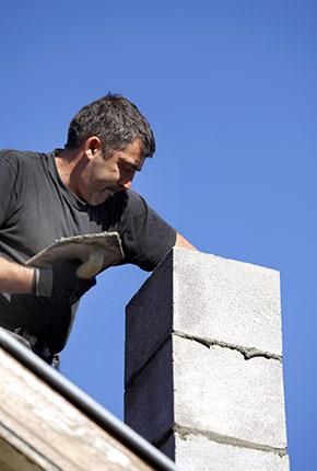 schoorsteen dakdekker
