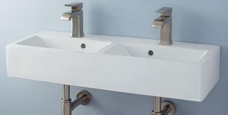 Afvoer Wastafel Monteren : Dubbele wastafel aansluiten wateraansluiting afvoer tips