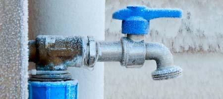 waterleiding ontdooien